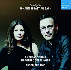 the cover of Andreas Scholl and Dorothee Oberlinger's new CD